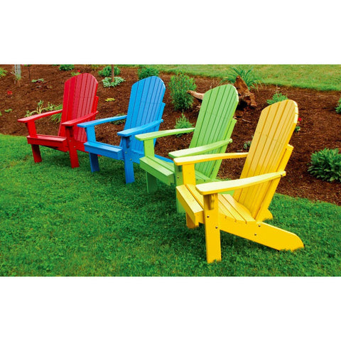 Fanback Adirondack Chair in Pine Wood - Buy Online at YardEpic.com