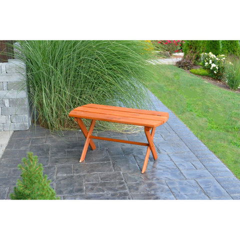Outdoor Folding Coffee Table in Cedar - Buy Online at YardEpic.com