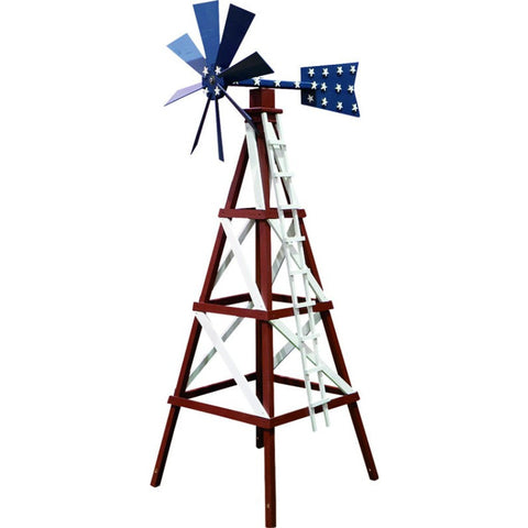Farm Style Windmill Garden Outdoor Spinner - Buy Online at YardEpic.com