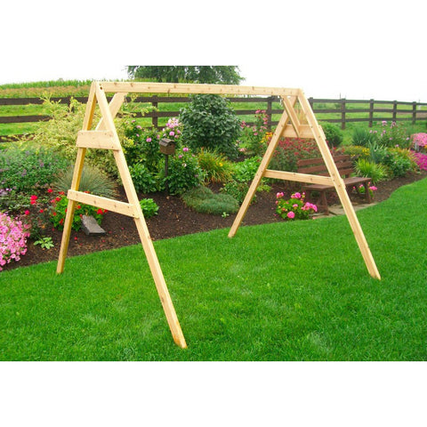 A-Frame Stand for Swing, Swingbed, Swingbench - Buy Online at YardEpic.com
