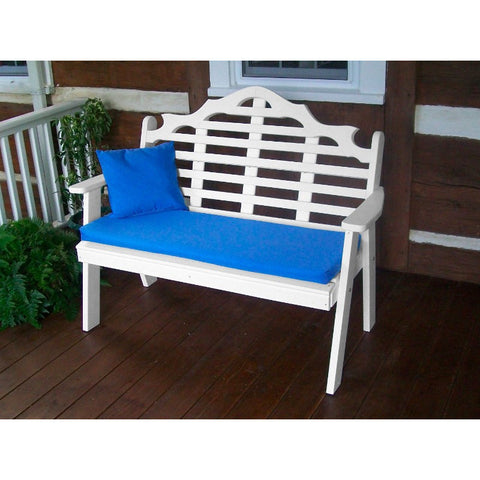 Poly Marlboro Garden Bench - Buy Online at YardEpic.com
