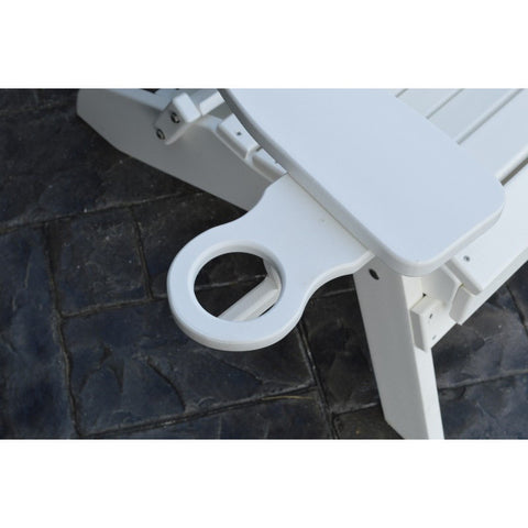 Cup Holder Accessory for HDPE Poly A&L Furniture - Buy Online at YardEpic.com