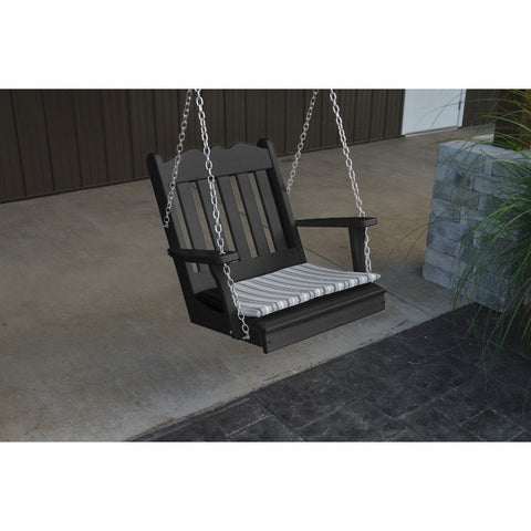 Poly Royal English Chair Swing - Buy Online at YardEpic.com