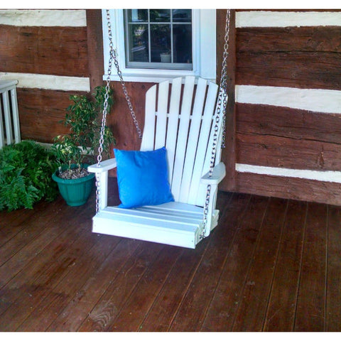 Adirondack Chair Swing HDPE Poly - Buy Online at YardEpic.com