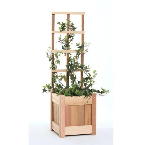 Small Planter Set Trellis Vine Climbing Growth Screen Yardepic