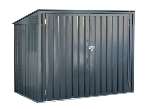 6x3 Charcoal Horizontal Shed Arrow Storboss
