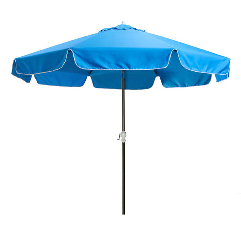 10' Patio Umbrella and Canopy, Blue