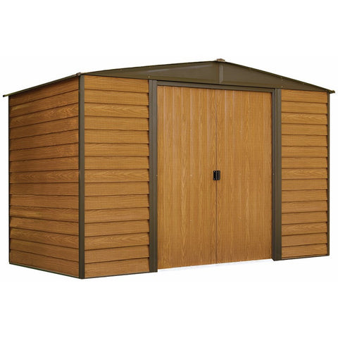 Woodridge Shed, 10x6, Steel, Sliding Doors - Buy Online at YardEpic.com
