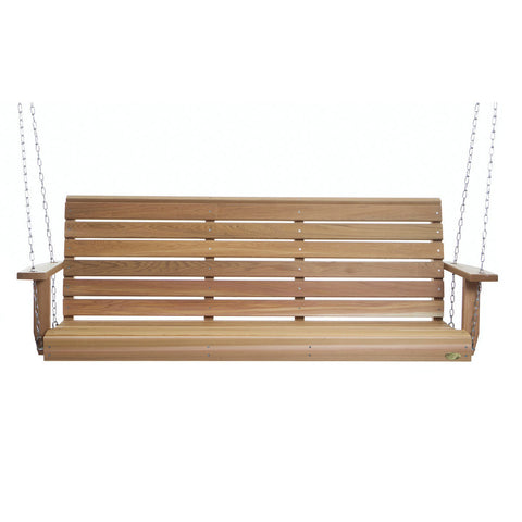 6' Porch Swing PS70U - All Things Cedar - Buy Online at YardEpic.com