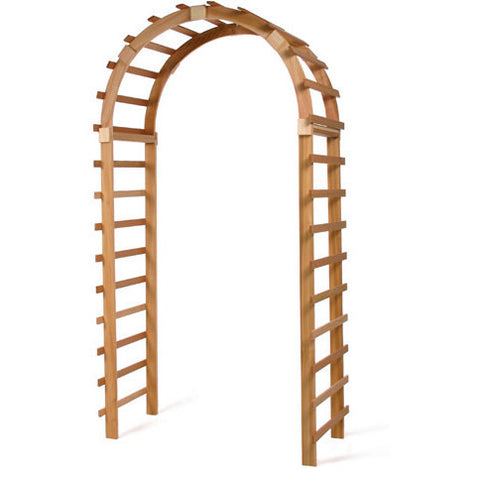 Trellis Arched Arbor - TA90 - All Things Cedar - Buy Online at YardEpic.com