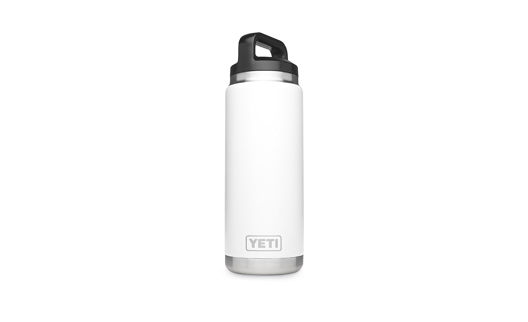 Yeti Rambler 26oz Bottle White - Board Store YetiDrinkware