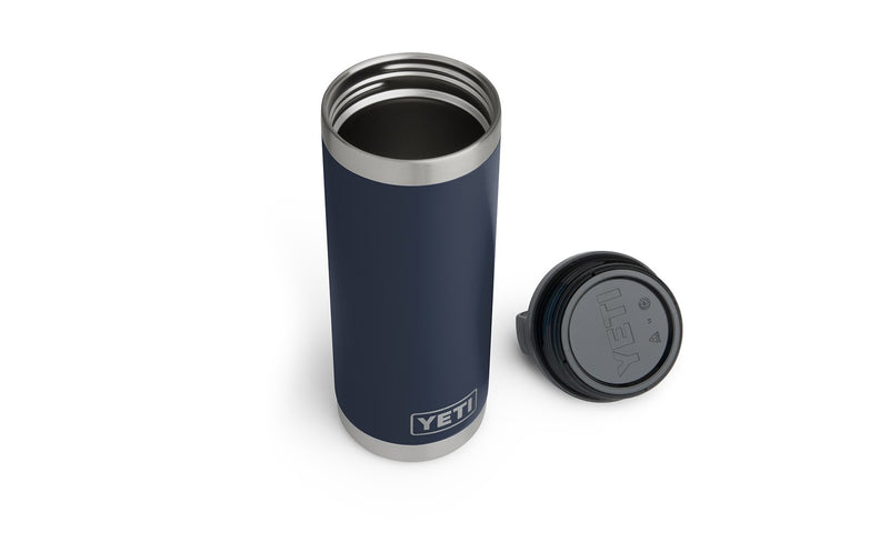 Yeti Rambler 18oz Bottle Navy - Board Store YetiDrinkware