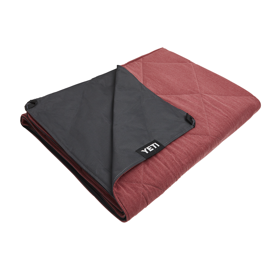 Yeti Lowlands Blanket Fireside Red - Board Store YetiAccessories