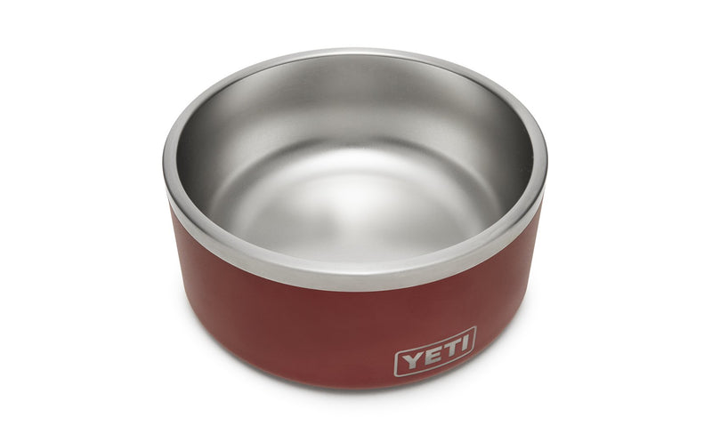 Yeti Boomer 8 Dog Bowl Brick Red - Board Store YetiDrinkware