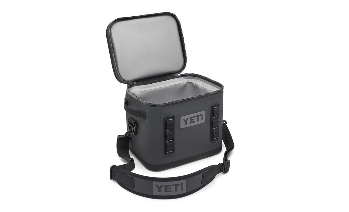 Yeti Hopper Flip 12 Charcoal (Top Handle) - Board Store YetiSoft Cooler