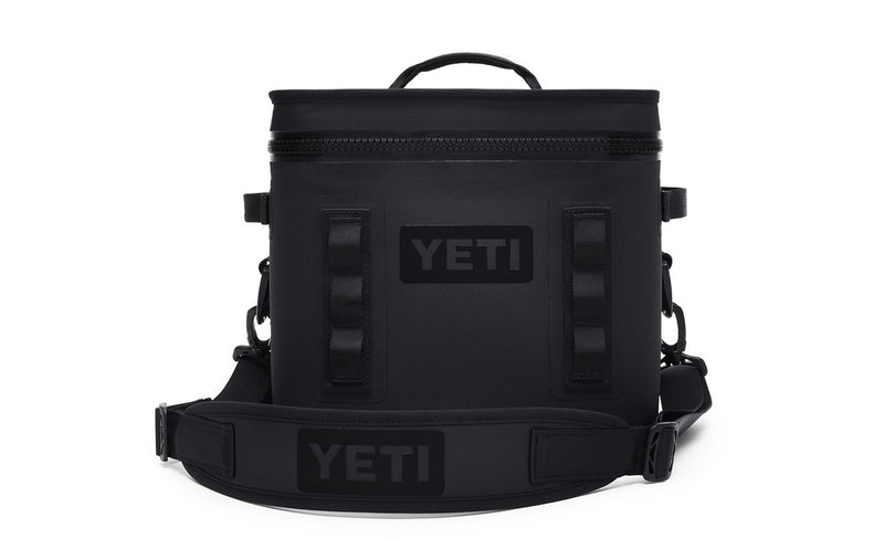 Yeti Hopper Flip 12 Black (Top Handle) - Board Store YetiSoft Cooler