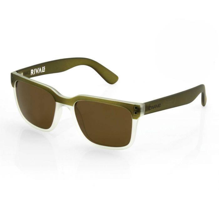 Carve Rival Olive/Clear Trans Polarised - Board Store CarveSunglasses