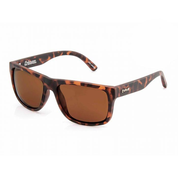 Carve Crimson Matt Tort Polarised - Board Store CarveSunglasses