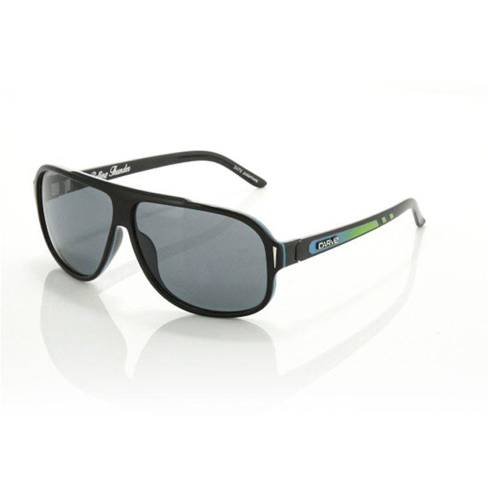 Carve Rolling Thunder Blk/Blu Polarised - Board Store CarveSunglasses