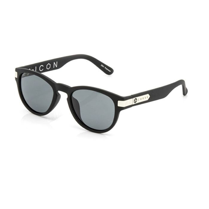 Carve Icon Matt Black Polarised - Board Store CarveSunglasses