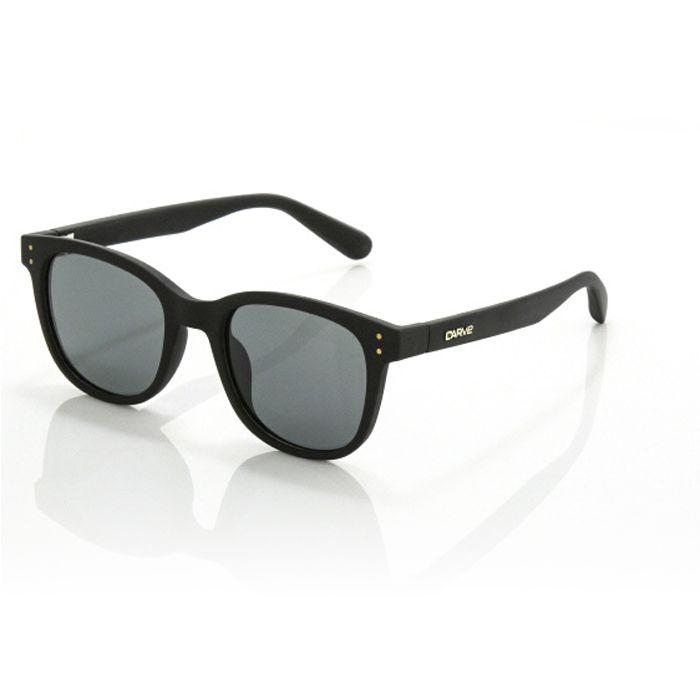Carve Homeland Gloss Black grey Polarised - Board Store CarveSunglasses