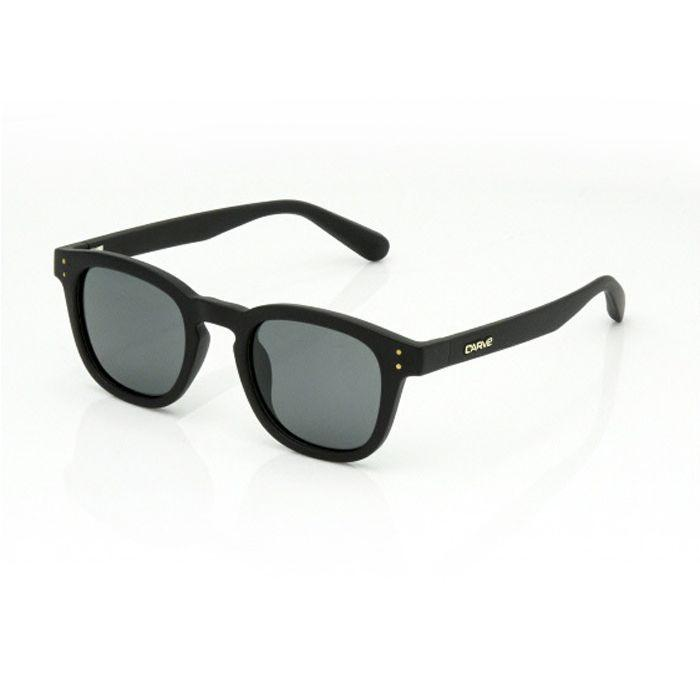 Carve Havana Matt Black /Grey Polarised - Board Store CarveSunglasses