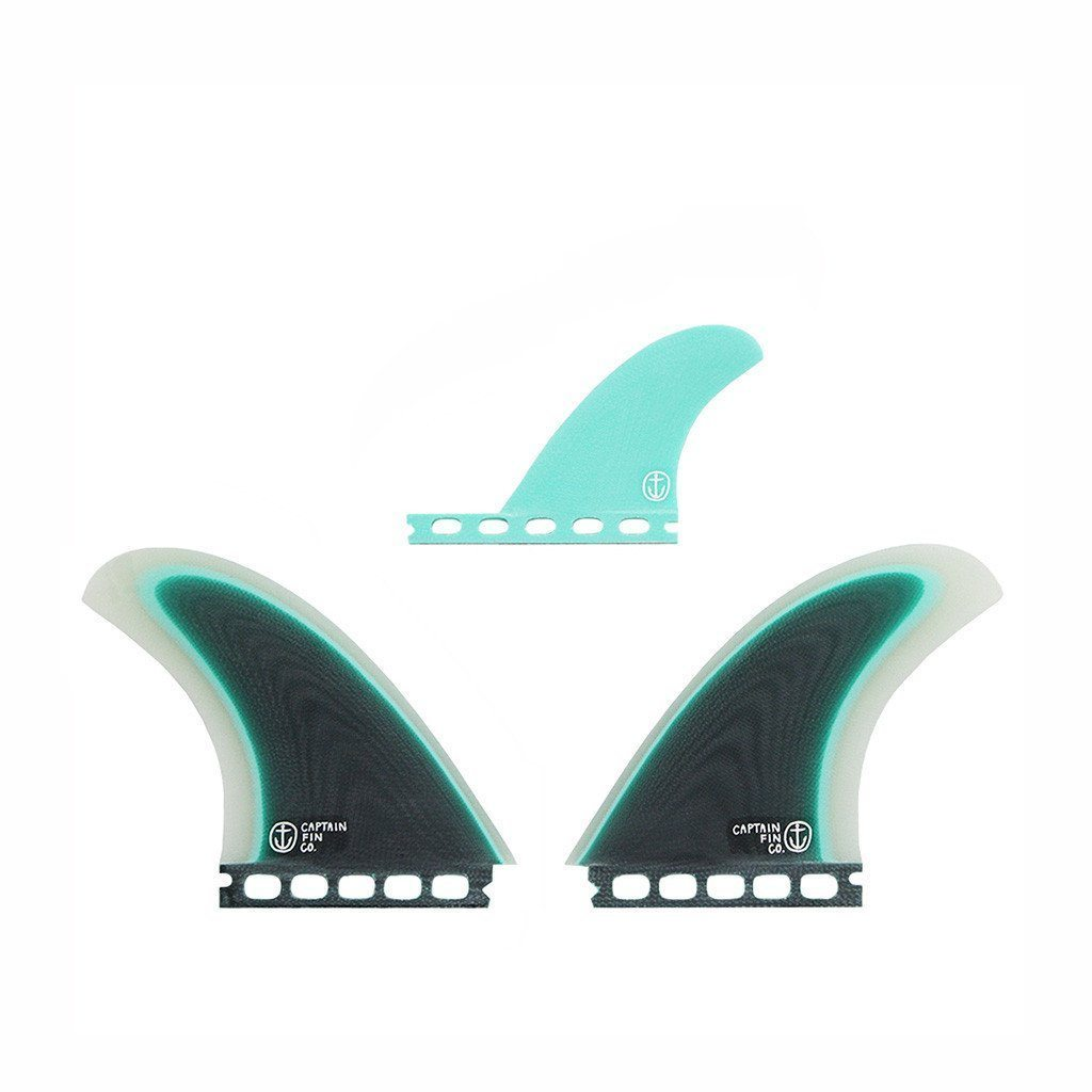 Captain Fin Twin Especial / seafoam - Board Store Captain FinFins