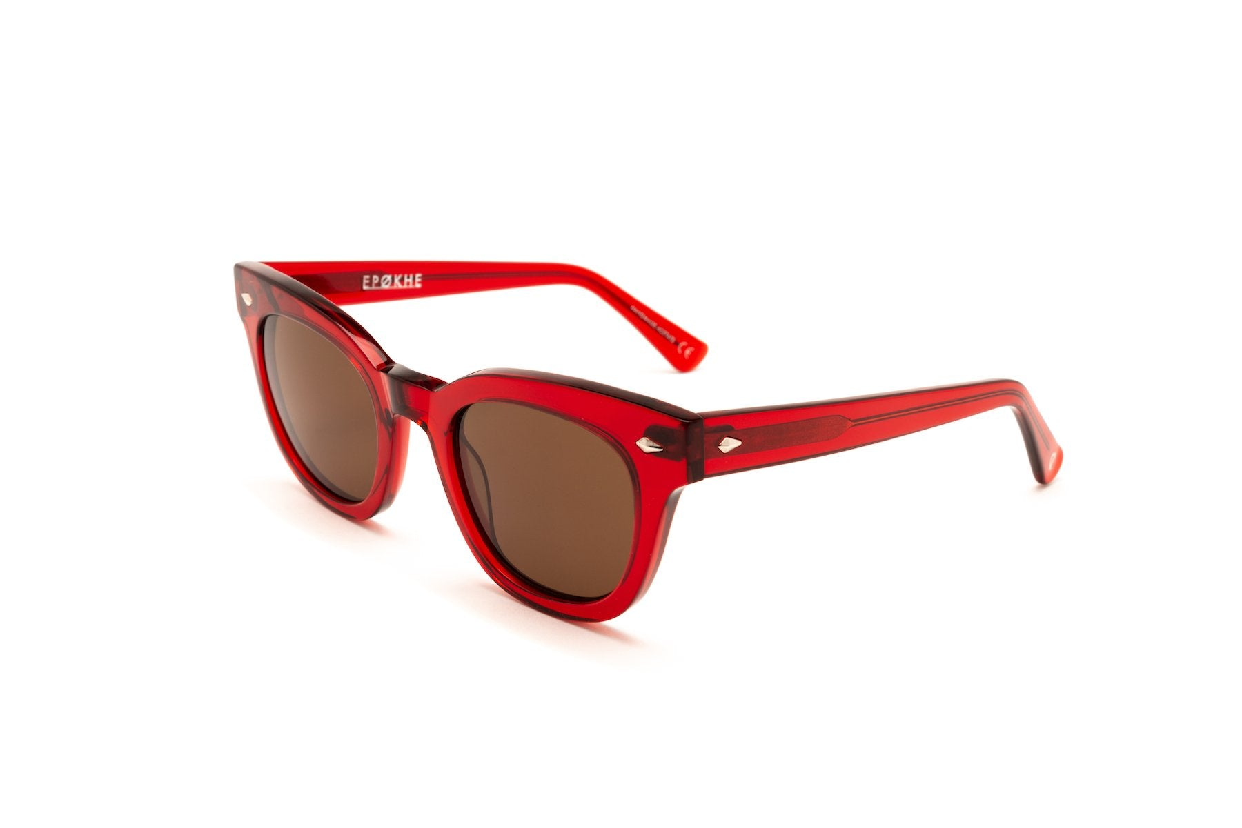 Epokhe DYLAN - BLOOD RED POLISHED/BRONZE - Board Store EpokheSunglasses