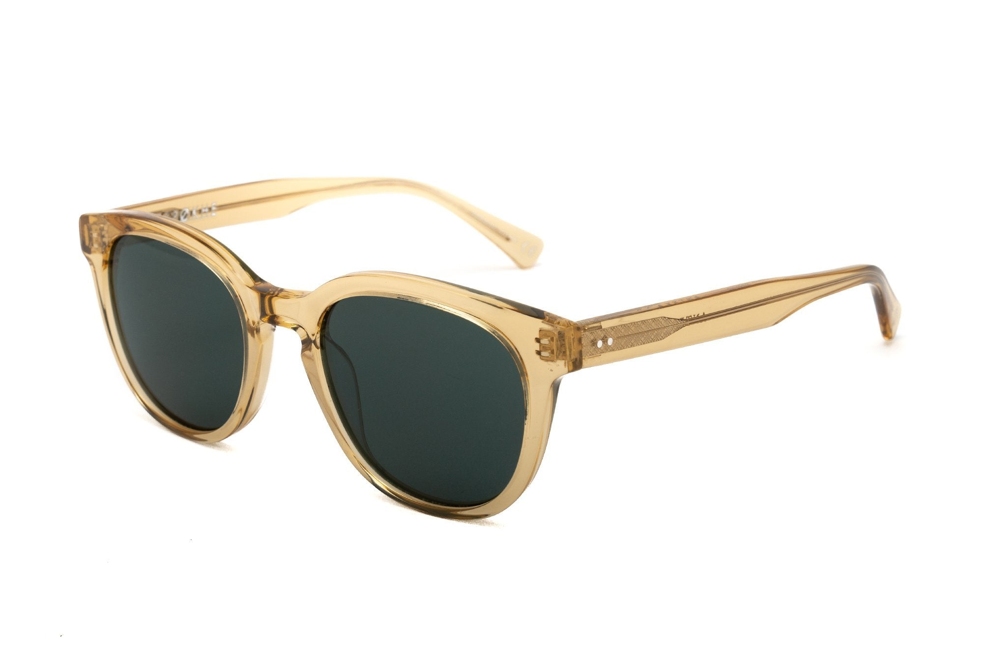 Epokhe ANTEKA 2.0 - CITRINE POLISHED/GREEN - Board Store EpokheSunglasses