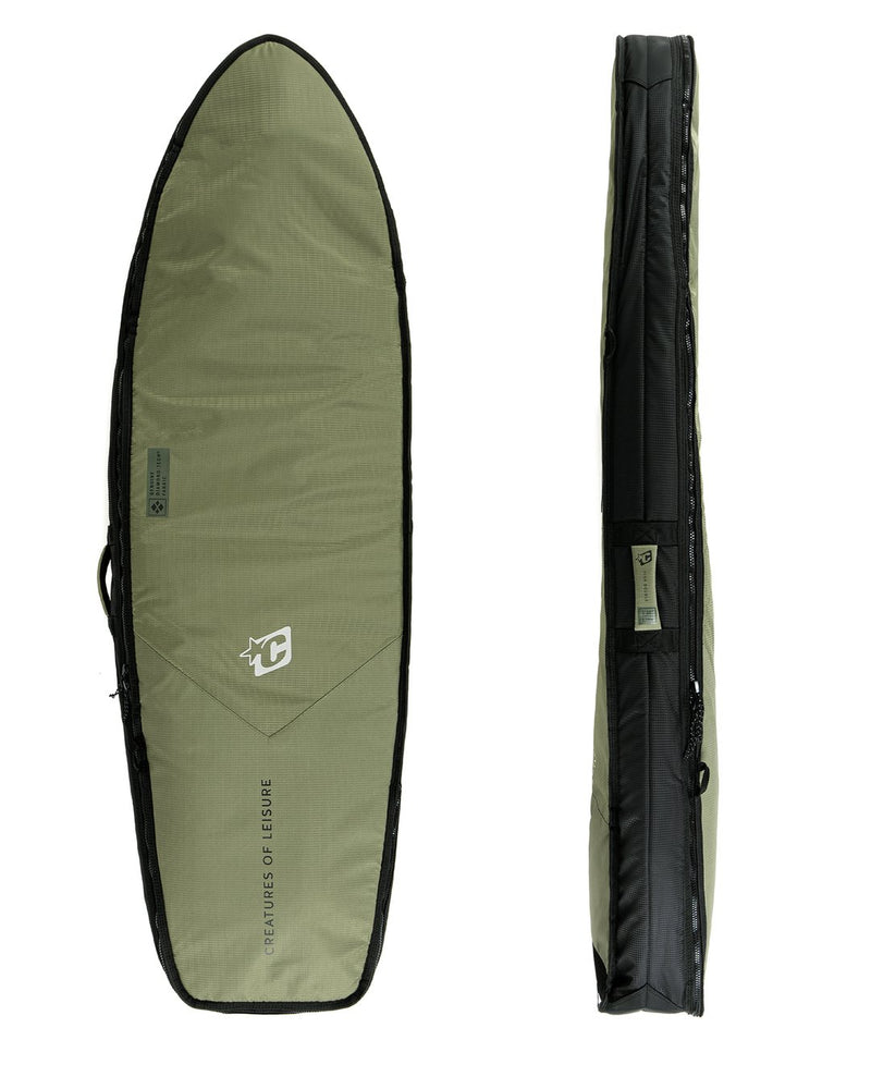 "Creatures FISH DOUBLE DT2.0 6'7"" : MILITARY BLACK - Board Store CreaturesBoardcover"