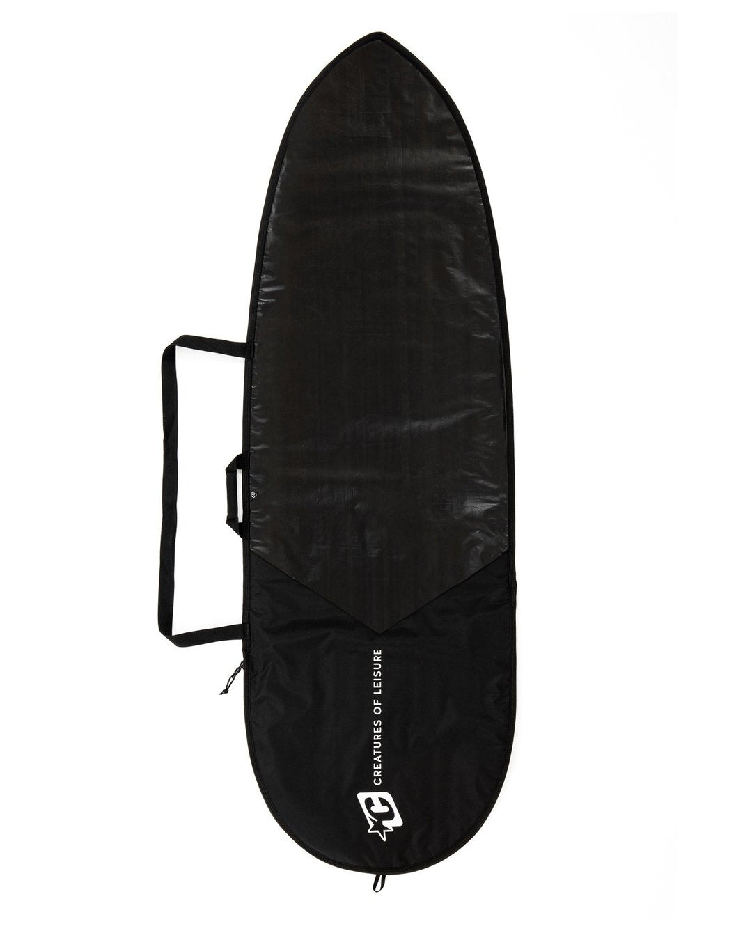 "Creatures FISH ICON LITE 6'3"" : BLACK SILVER - Board Store CreaturesBoardcover"