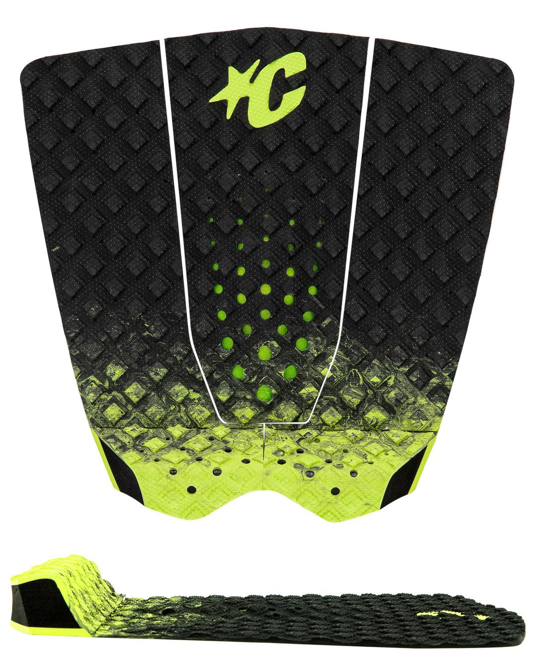 Creatures GRIFFIN COLAPINTO LITE : BLACK FADE LIME - Board Store CreaturesTraction