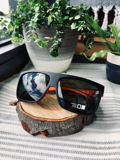Otis Young Blood Matte Black Rust/Cool Grey - Board Store Otis EyewearSunglasses