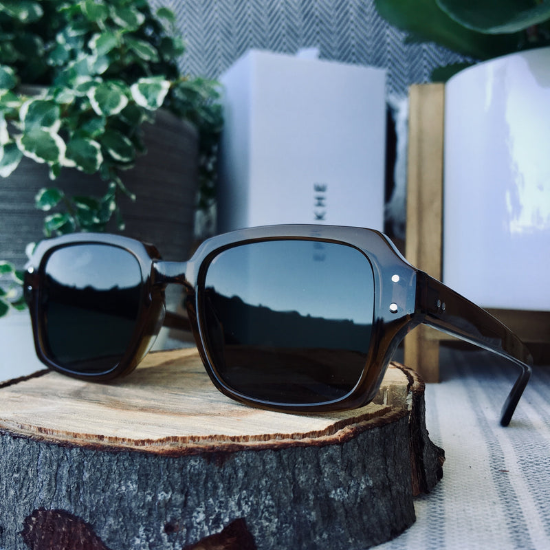Epokhe WILSON - TOBACCO POLISHED/GREEN - Board Store EpokheSunglasses