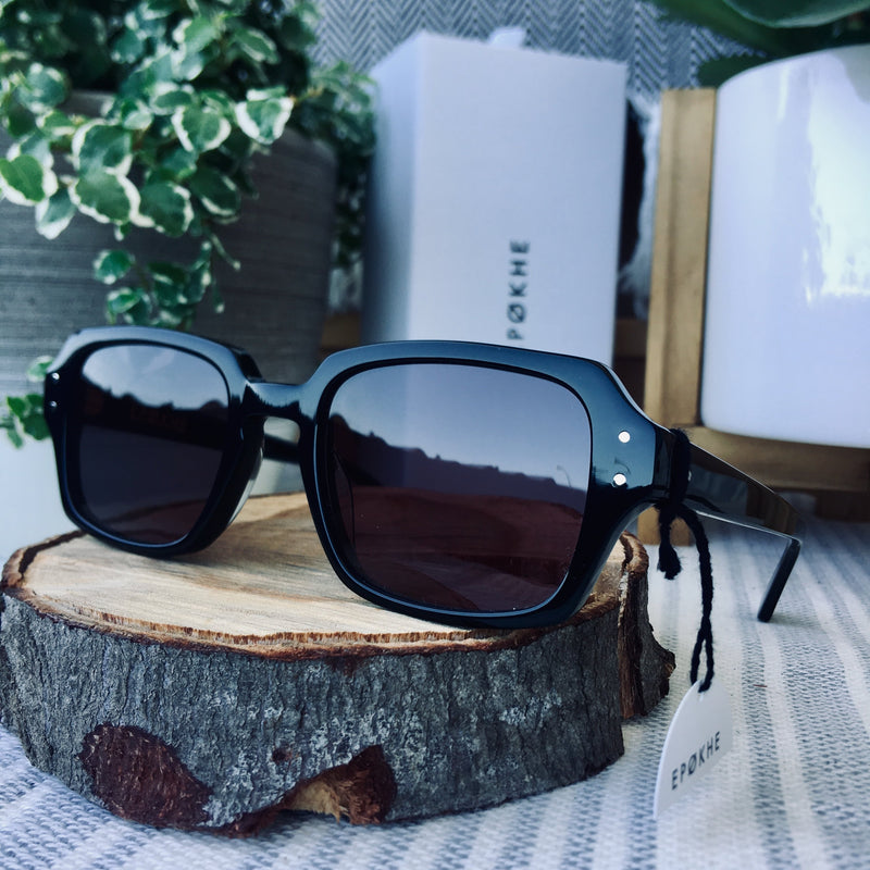 Epokhe WILSON - BLACK POLISHED/BLACK - Board Store EpokheSunglasses