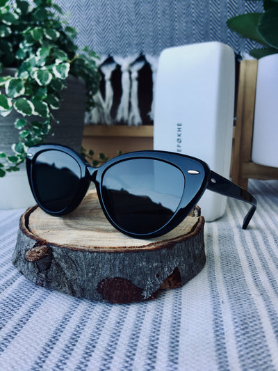 Epokhe POKA - BLACK POLISHED/BLACK - Board Store EpokheSunglasses