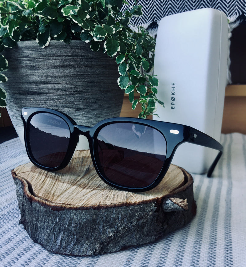 Epokhe KINO - BLACK POLISHED/BLACK - Board Store EpokheSunglasses