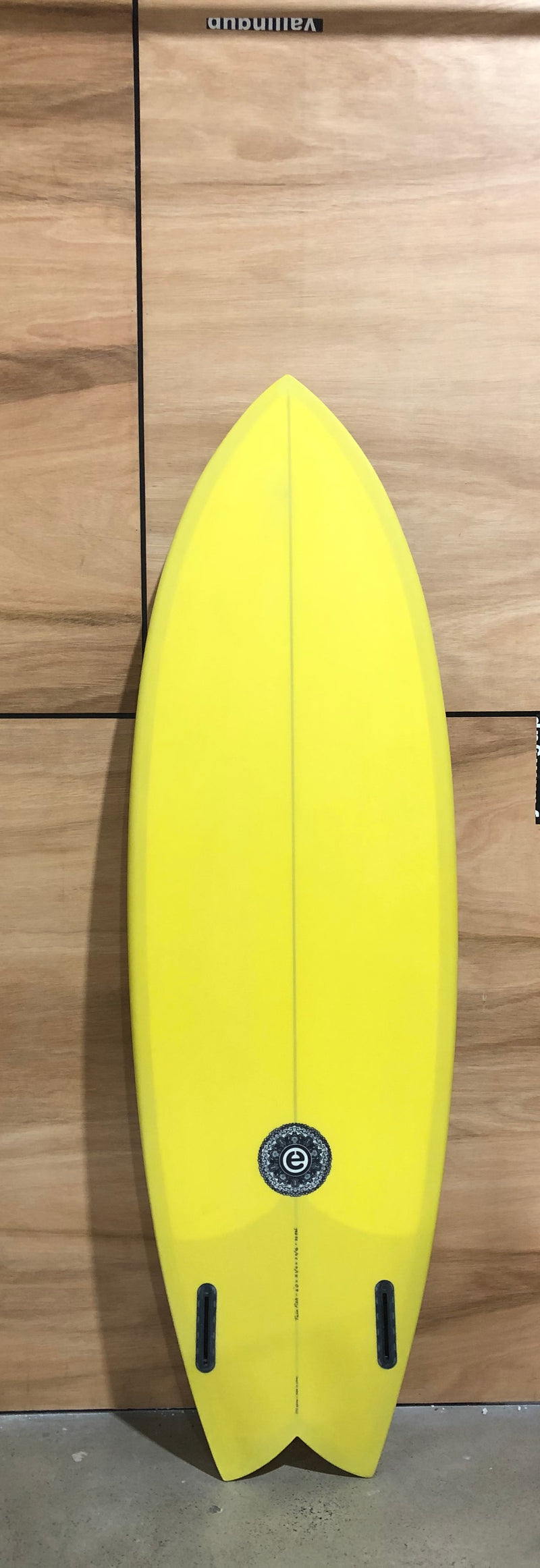 Element - TWIN FISH MUSTARD - Board Store ElementSurfboard