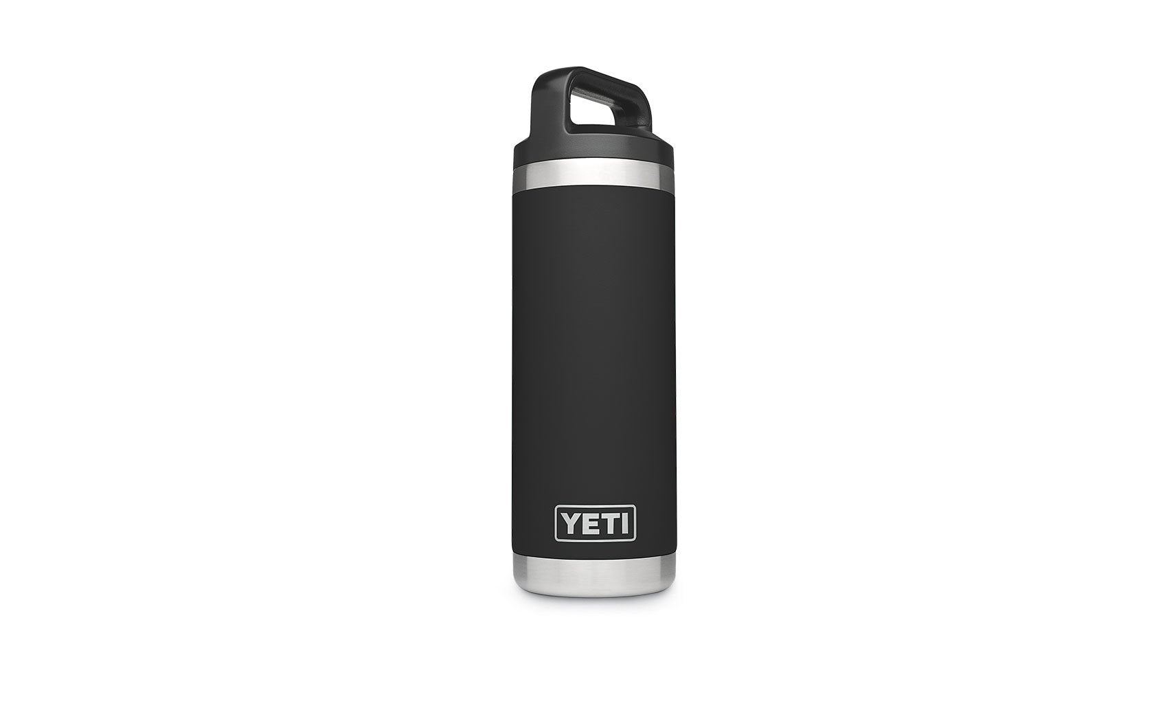 Yeti Rambler 18oz Bottle Black - Board Store YetiDrinkware