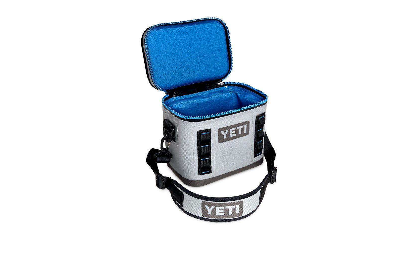 Yeti Hopper Flip 8 Field Fog Gray / Tahoe Blue (Top Handle)