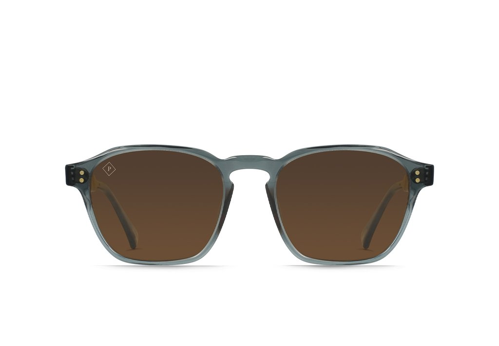 RAEN Aren 53 Slate/Vibrant Brown Polarised - Board Store RaenSunglasses