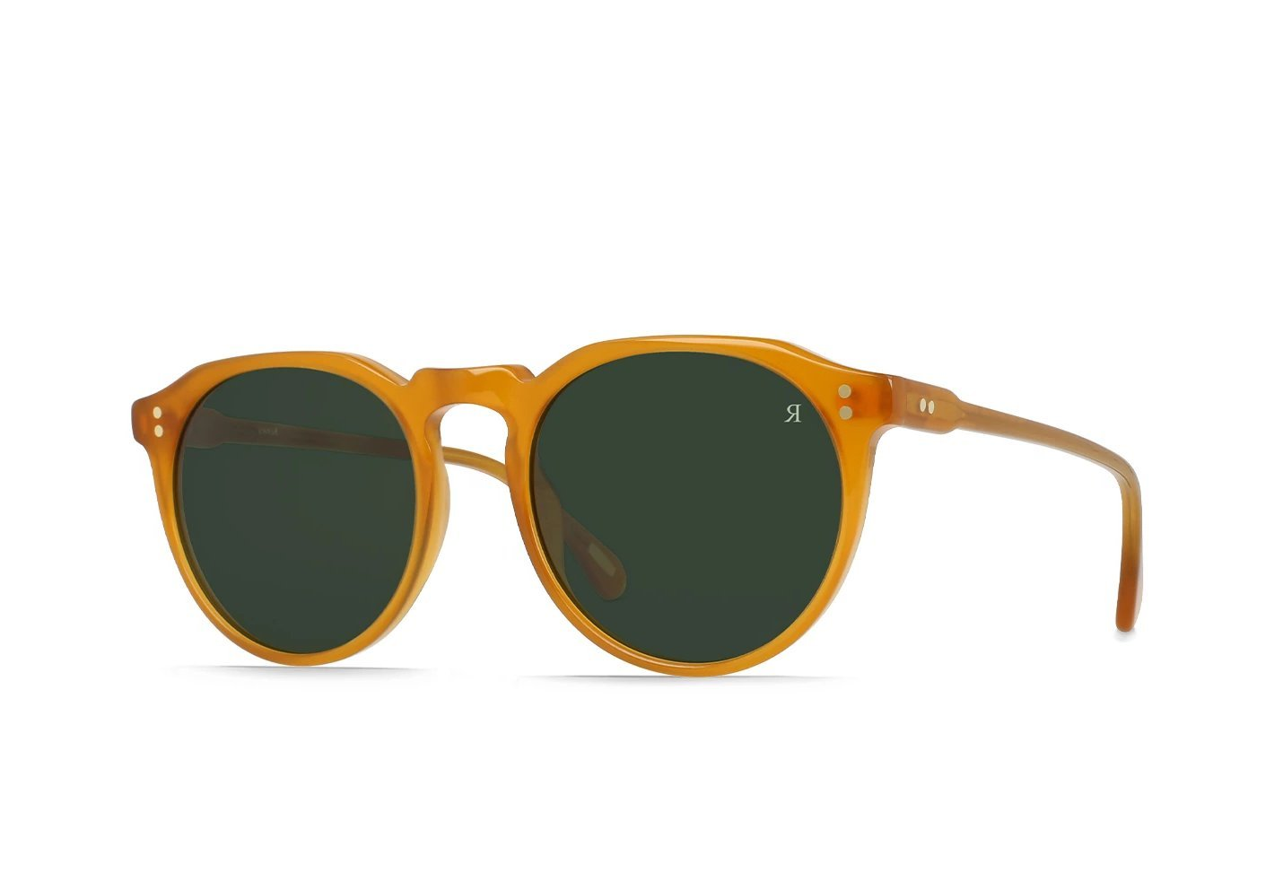 RAEN Remmy 49 Honey/Bottle Green - Board Store RaenSunglasses
