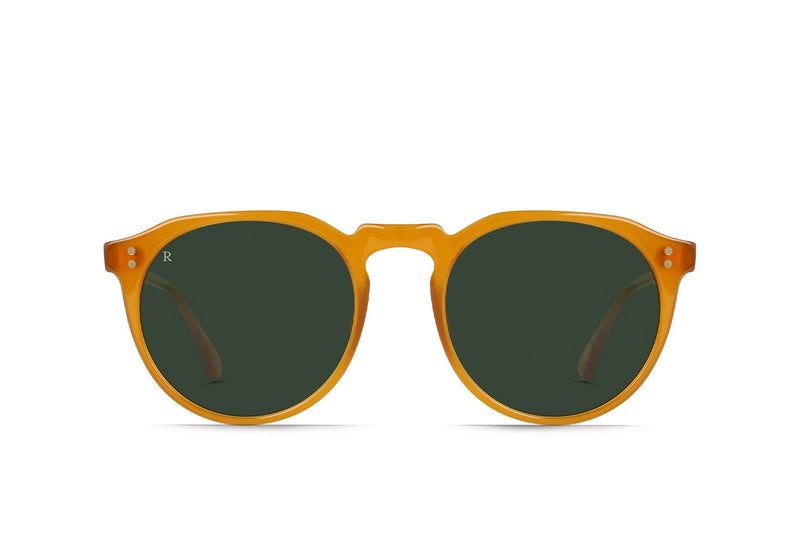 RAEN Remmy 52 Honey/Bottle Green - Board Store RaenSunglasses
