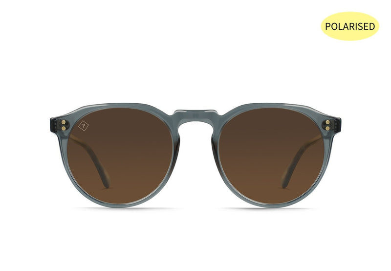 RAEN Remmy 52 Slate /Vibrant Brown Polarised - Board Store RaenSunglasses