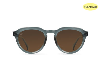 RAEN Sage Slate Crystal/Vibrant Brown Polarised - Board Store RaenSunglasses