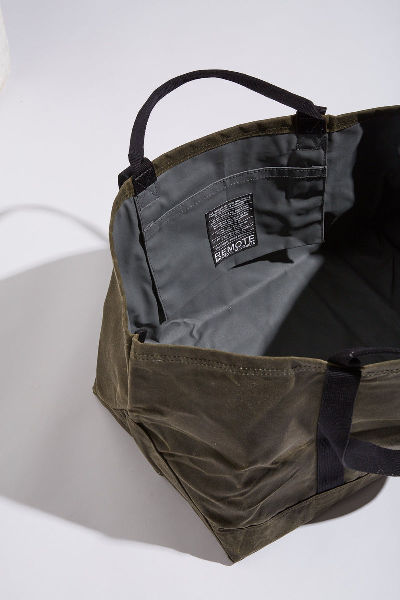 Remote Projects UTILITY BAG - BUSH | BLACK - Board Store Remote ProjectsBag