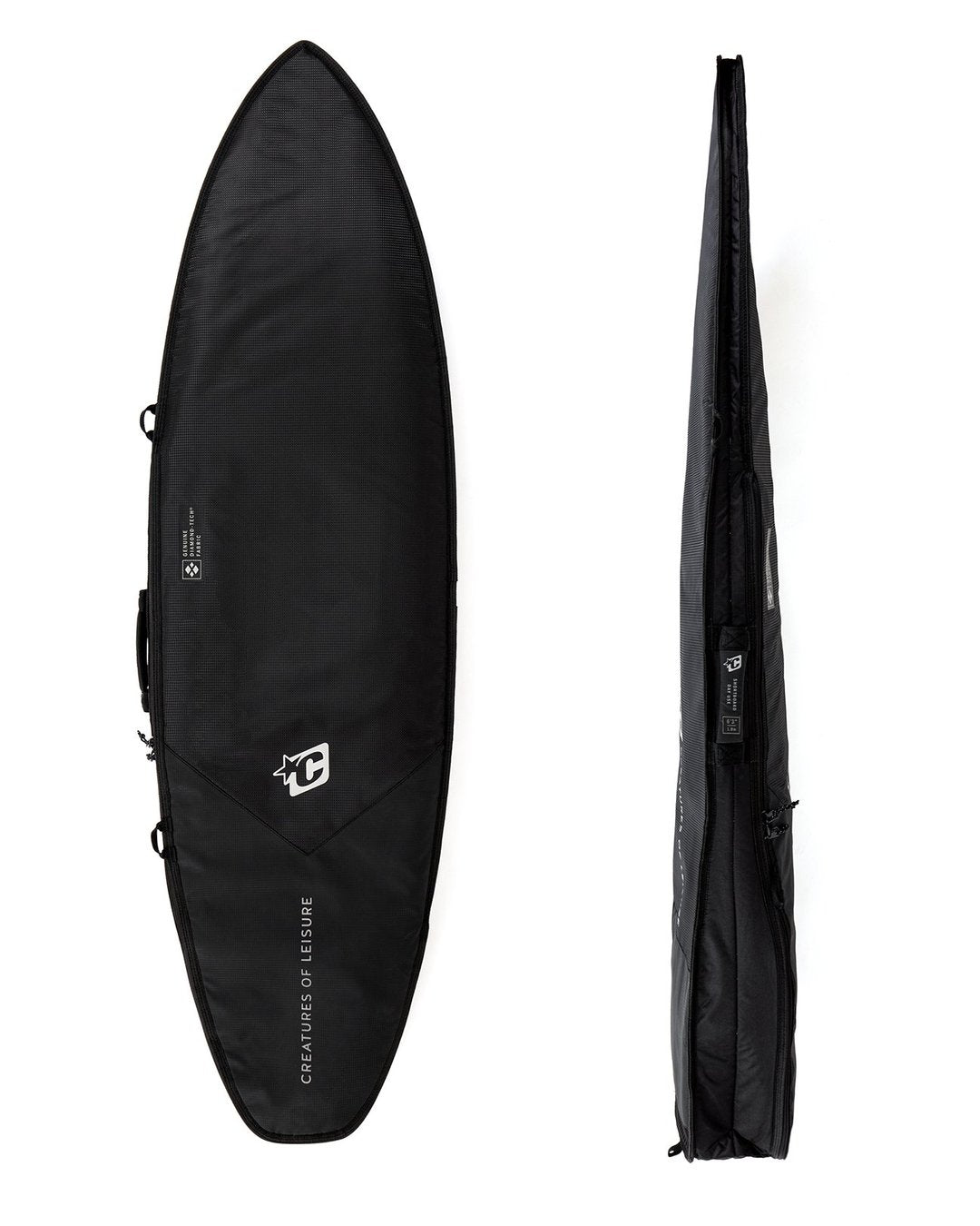 "Creatures SHORTBOARD DAY USE DT2.0 7'1"" : BLACK SILVER - Board Store CreaturesBoardcover"