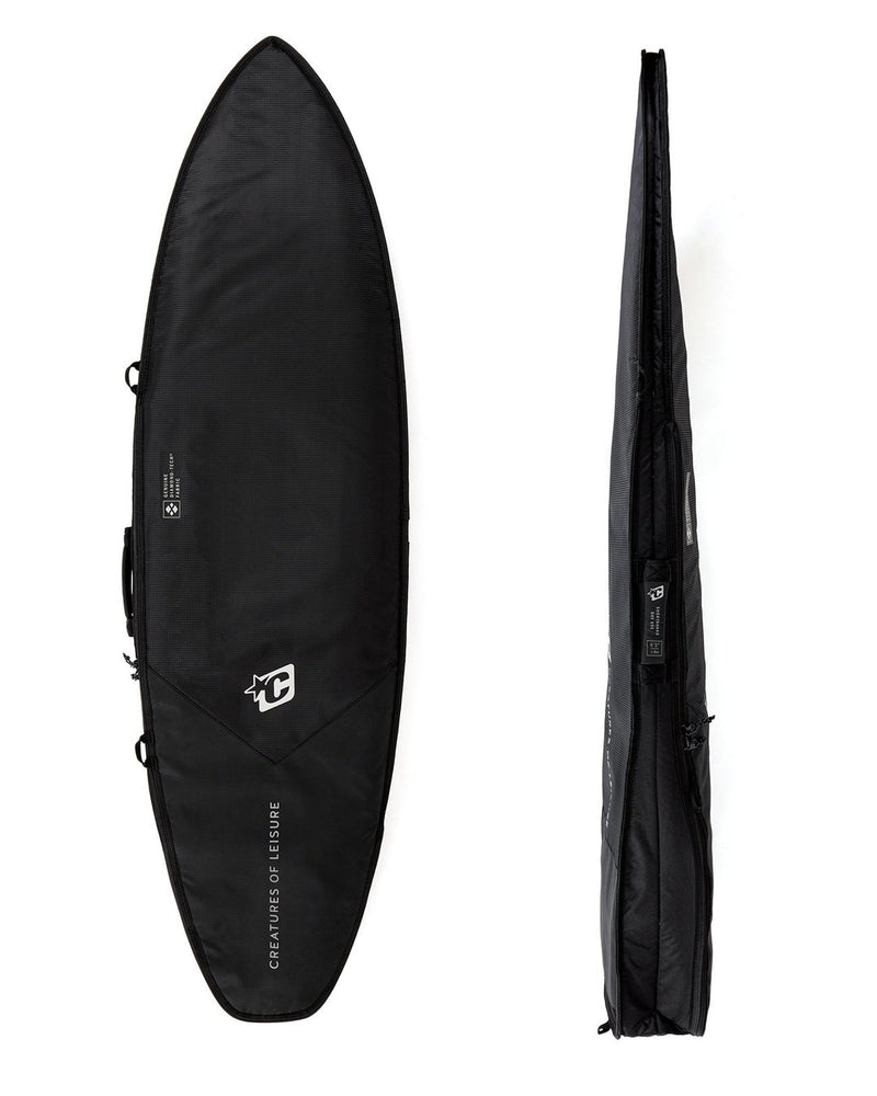 "Creatures SHORTBOARD DAY USE DT2.0 6'0"" : BLACK SILVER - Board Store CreaturesBoardcover"