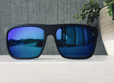 Otis After Dark Polarised Matte Black/Mirror Blue - Board Store Otis EyewearSunglasses