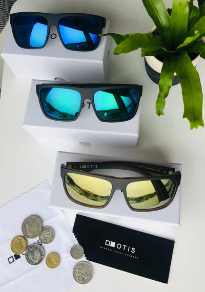 Otis After Dark Black Woodland Matte/Mirror Green - Board Store Otis EyewearSunglasses